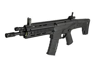 Реплика автоматической винтовки MSD CQB - black [A&K], фото 2