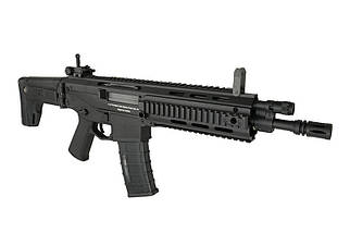 Реплика автоматической винтовки MSD CQB - black [A&K], фото 3