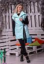 Женская плащевая жилетка металл 10zi13, фото 7