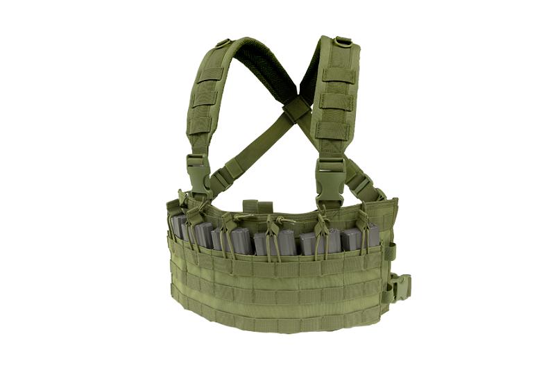 Жилет тактический (разгрузочный) Rapid Assault Chest Rig - olive drab [Condor] (для страйкбола)