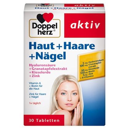 Витамины для волос и ногтей doppel herz