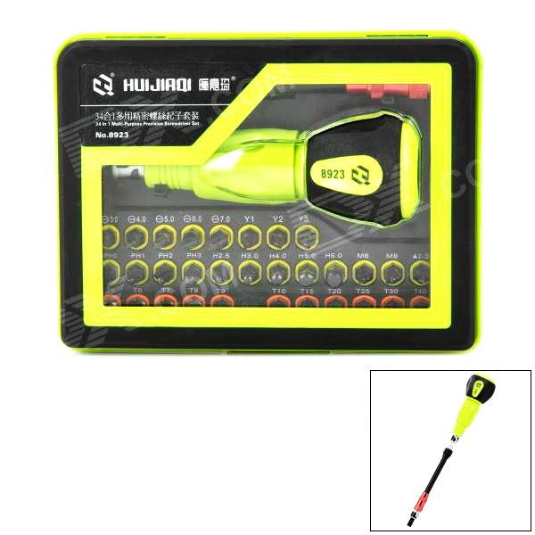 Профессиональный набор инструментов HuiJiaQi 8923 34-in-1