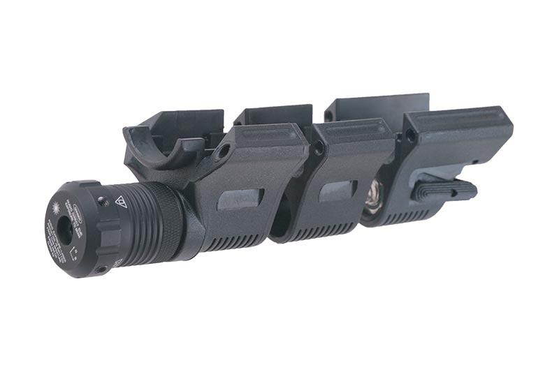 Wskaźnik laserowy AM-LA-BK do chwytów Amoeba - black [AMOEBA]