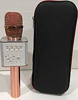 Караоке микрофон MicGeek Q9 PRO Rose/Gold (Гарантия/Подарок/Чехол)