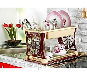 Сушка для посуды Ромашка (2 цвета)