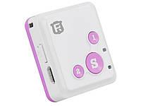Автомобільний GPS трекер RF-V16  Рожевий