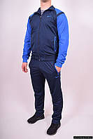 Костюм спортивный мужской (color blue) ткань Lacoste NIKE (Polyester 100%) Размеры в наличии : 48,50,52,54 арт.201723