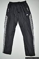Брюки спортивные мужские из плащевки на флисе Adidas Размеры в наличии : 40,42 арт.E2697