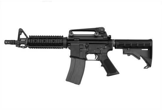 Штурмовая винтовка WE M4CQB Open Bolt - black [WE] (для страйкбола), фото 2
