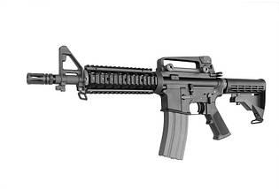 Штурмовая винтовка WE M4CQB Open Bolt - black [WE] (для страйкбола), фото 3