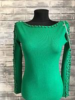 Женское платье 12з. Размер 42-44. Черное, пудра, зеленое