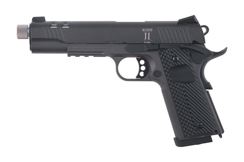 Страйкбольный пистолет RUDIS II ACTA NON VERBA CO2 - Grey [Secutor] (для страйкбола)