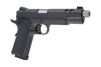 Страйкбольный пистолет RUDIS II ACTA NON VERBA CO2 - Grey [Secutor] (для страйкбола), фото 3