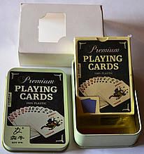 Карты для покера 100% пластик премиум качества подарочные