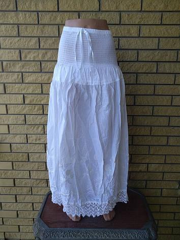 Юбка-сарафан летняя в пол коттоновая FASHION, фото 2