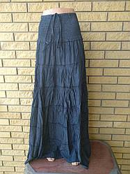 Сарафан-юбка летняя в пол коттоновая CEKRETR