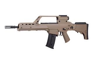 Штурмовая винтовка JG1538 V2 - tan [JG] (для страйкбола), фото 2