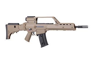 Штурмовая винтовка JG1538 V2 - tan [JG] (для страйкбола), фото 3