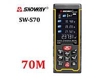 Sndway SW-S70 лазерная рулетка, дальномер от 0,05 до 70 м
