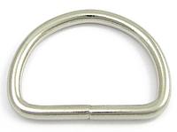 "Металлическое кольцо 10 мм ""D-тип"""