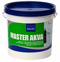 Клей KIILTO MASTER Akva 3 литра. Клей для стеновых покрытий