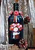 Украинский сувенир - бутылка Украиночка Подарок в украинском стиле