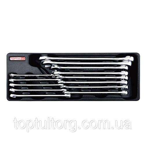 Набор ключей комбинированных 8-24мм 13 ед. (в ложементе, тип А)  TOPTUL GAAT1301