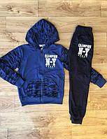 Трикотажный костюм-двойка для мальчиков оптом, Active Sport ,134-164 рр., арт.HZ-6303, фото 3