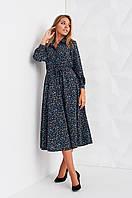 Женское платье  Stimma Лоренс 2408 S Чорний Орнамент