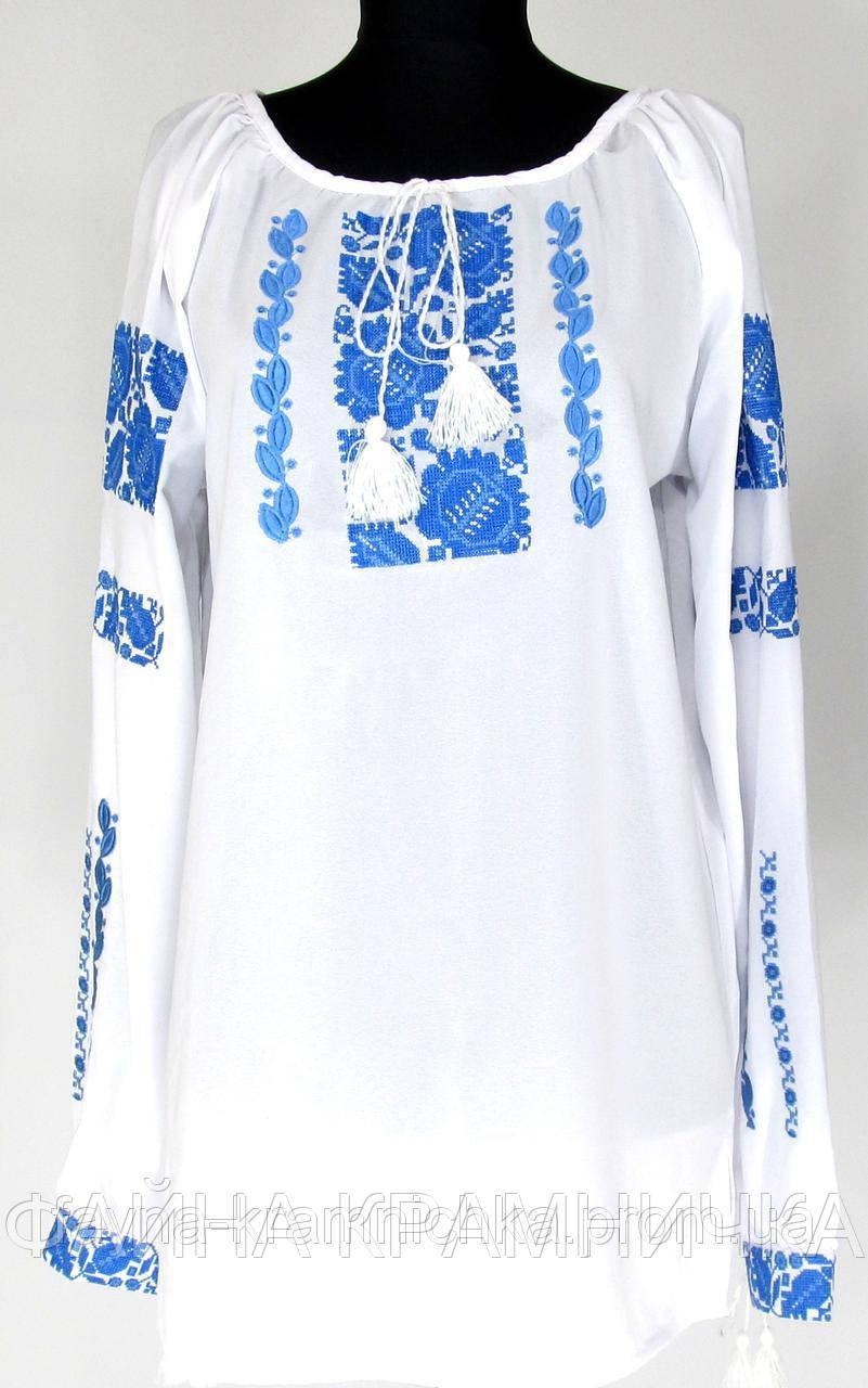 Сорочка вишиванка креп шифон рр.42-54