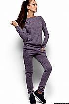 Спортивный женский ангоровый костюм с вырезом на спине (Кирстен kr), фото 2