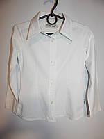 Рубашка для девочки BASICS,рост 110-122, 5-7 лет 059КР