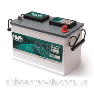 Аккумуляторы для грузовиков автомобилей FIAMM ENERGY CUBE RST 6СТ-100Аз 720А R (GR28)