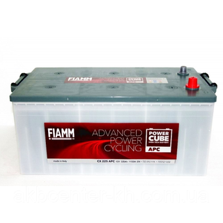 Аккумуляторы для грузовиков автомобилей FIAMM POWER CUBE APC 6СТ-225Аз 1150A R