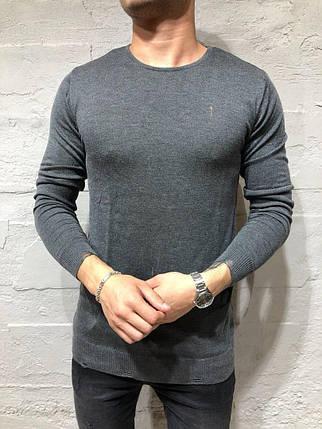 Кардиган мужской серый, фото 2