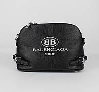 Трендовая сумочка Balenciaga 88761 черная, 2 ремешка в комплекте