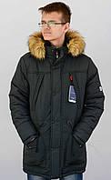 """Зимняя куртка-Alяска """"Tommy Hilfiger"""" для юношей и подростков.Товар-Реплика."""