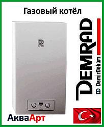Котел газовый дымоходный Demrad Nepto HKT 2-20 турбированный с битермическим теплообменником
