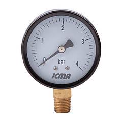 🇮🇹 Манометр ø 63 мм ICMA, (91244AB06)