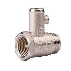 """🇮🇹 Предохранительный клапан для бойлера без ручки 1/2"""" ICMA №GS08, 91GS08AD06"""