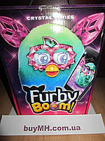 Ферби бум кристалл русский язык Зеленый/Голубой (Furby Boom Crystal Series Furby Green/Blue)