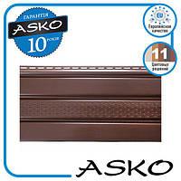 Панель софіт ASKO з перфорацією 3,5 м., 1,07 м. кв./панель. Колір: Коричневий