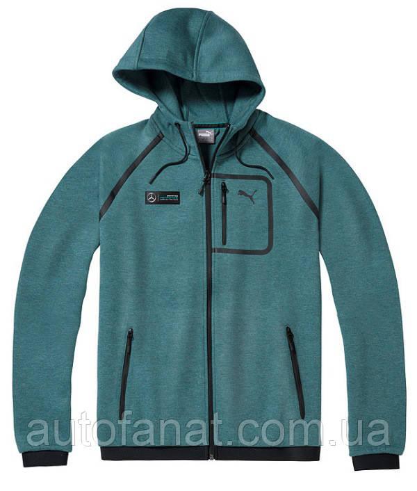 Мужская толстовка Mercedes AMG Petronas F1 Men's Sweat Jacket, Green