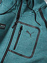 Мужская толстовка Mercedes AMG Petronas F1 Men's Sweat Jacket, Green, фото 2