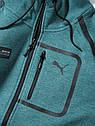 Мужская толстовка Mercedes AMG Petronas F1 Men's Sweat Jacket, Green, фото 2