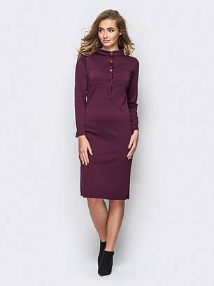 (S, M, L, XL, XXL) Класичне бордове плаття Fridia