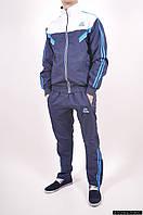 Костюм мужской спортивный (цв.темно-синий/белый ) 100% полиэстер Clima365+F50 Размер в наличии : 46 арт.1084