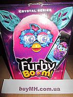 Ферби бум кристалл Розовый/Фиолетовый русский язык (Furby Boom Crystal Series Furby Pink/Purple), фото 1