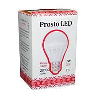 Светодиодная лампа Prosto LED 7W E27 4100К G61 (Шар)