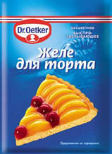 Желе для торту Dr.Qetker прозоре